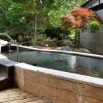 鰺ヶ沢・古代の海水が、天然温泉になった