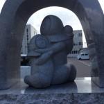 「空襲・戦災都市 青森」の碑